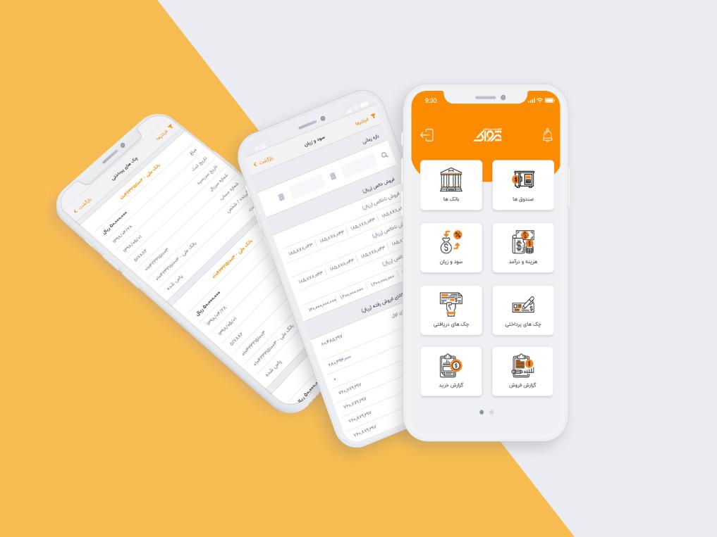 وب اپلیکیشن داشبورد مدیریتی محصولات پژواک