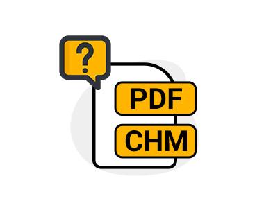 راهنمای PDF & CHM نرم افزارها
